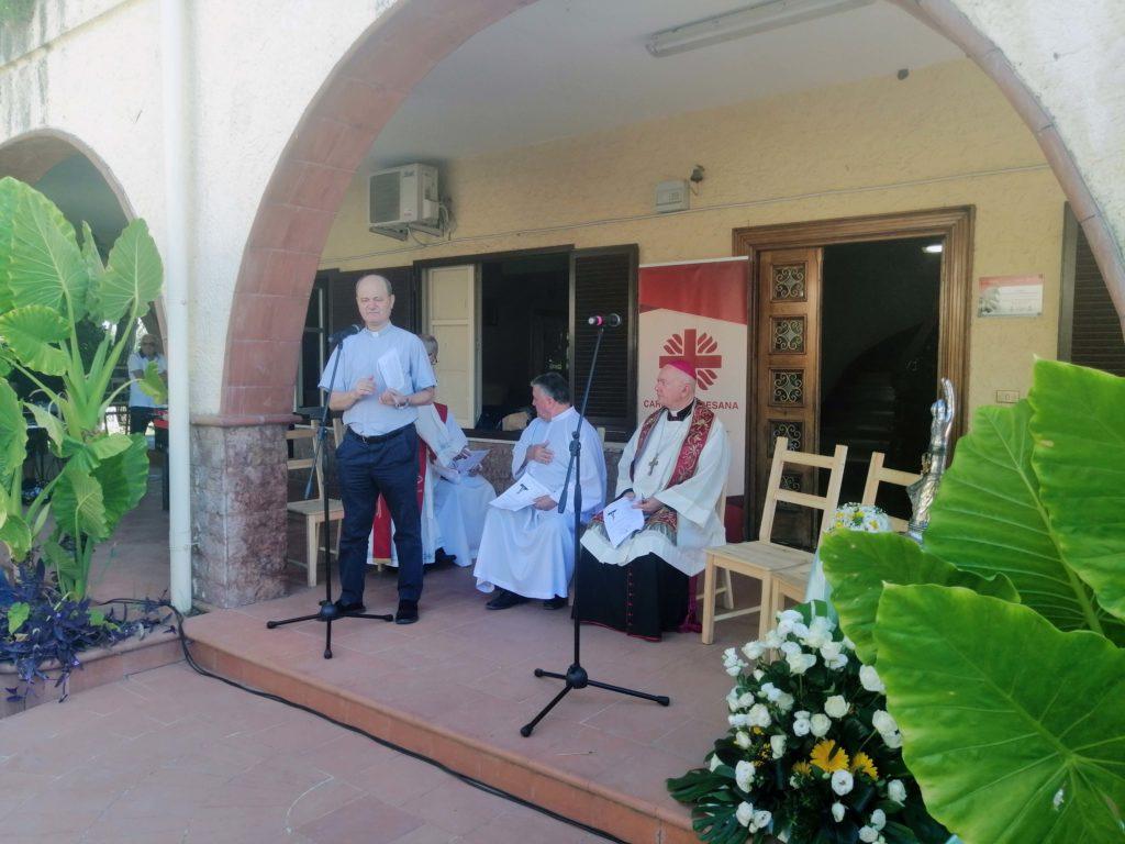 S.E. Mons. Bellandi a Casa Betlemme: servire i poveri è servire Cristo