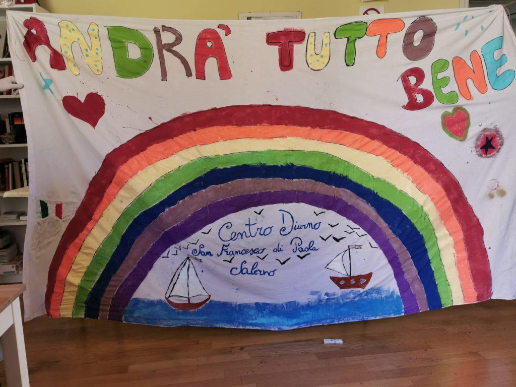 """COVID 19. """"Non solo ospiti"""": il messaggio di speranza alla città degli utenti del Centro Diurno """"S.Francesco di Paola"""""""